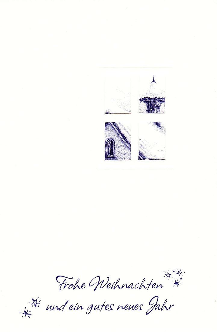 Weihnachtskarte FWb1 (Billett + Kuvert) | Adventist Book Center
